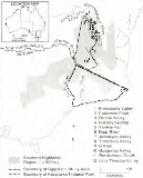Map of the southern highlands (published in Australian Archaeology 41:30).