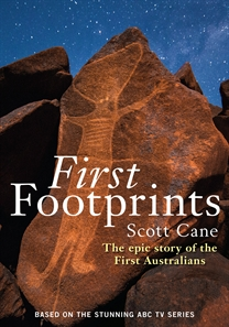 Book Cover Cane First Footprints